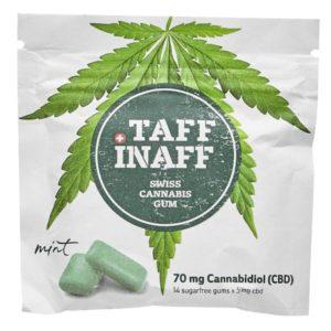 Taff Inaff Canabis Kaugummi Test